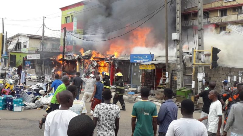 Read more about the article FIRE OUTBREAK IN A BUILDING: ALWAYS BE PREPARED